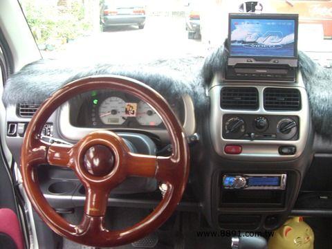 Suzuki中古車/鈴木中古車,Solio中古車/所力歐中古車,忍痛割愛~2003年 SOLIO 黑白鈴木 ~歡迎試車-圖片9