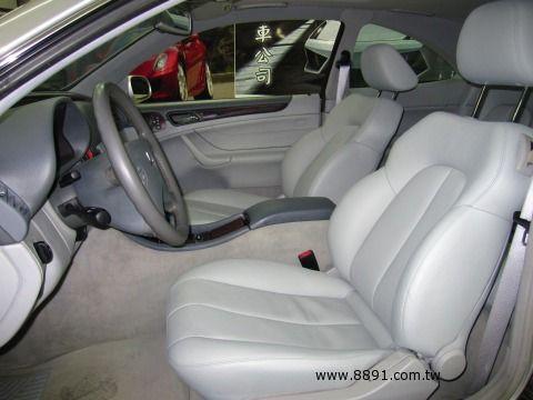 Benz中古車/賓士中古車,CLK 320中古車,CLK 320中古車,BENZ CLK320 雙門跑車-圖片1
