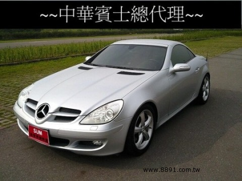 Benz中古車/賓士中古車,SLK 350中古車,SLK 350中古車,SUM【台新汽車】2005年型中華總代理 SLK350 敞篷車-圖片3