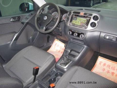 VW中古車/福斯中古車,Tiguan中古車/帝觀中古車,福利汽車*國際ISO認證*VW(福斯)TIGUAN 2.0 全新中獎車-圖片5
