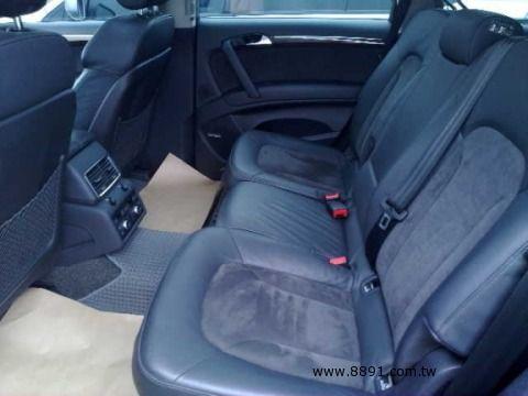 Audi中古車/奧迪中古車,Q7中古車,2007年柴油 Q7 3.0 AUDI 7人做最舒適的車 -圖片2