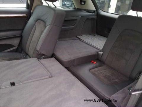 Audi中古車/奧迪中古車,Q7中古車,2007年柴油 Q7 3.0 AUDI 7人做最舒適的車 -圖片3