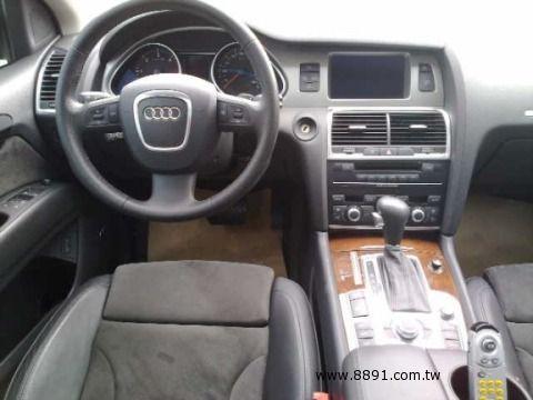 Audi中古車/奧迪中古車,Q7中古車,2007年柴油 Q7 3.0 AUDI 7人做最舒適的車 -圖片4