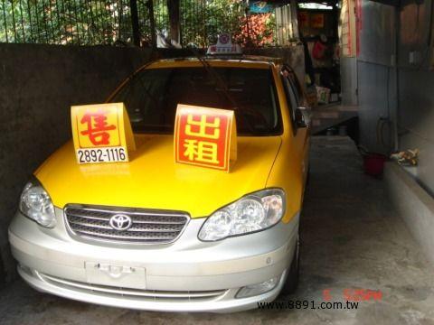 Toyota中古汽車/豐田中古汽車,Altis中古汽車/歐提司中古汽車,台北市北投~國瑞~計程車賣場-圖片5