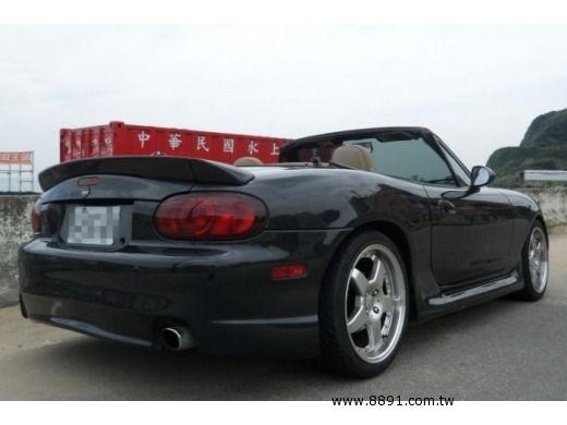 Mazda中古車/馬自達中古車,Miata中古車,MX5 敞篷附硬頂.配備時尚買回不必在加裝任何週邊 Z3.MGF.SLK-圖片1