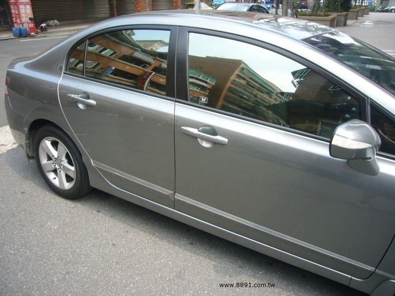 Honda中古汽車/本田中古汽車,Civic中古汽車/喜美中古汽車,自售超省油行駛超安靜.新車價76.9萬的喜美八代k12.最頂級hid.雙安-圖片2