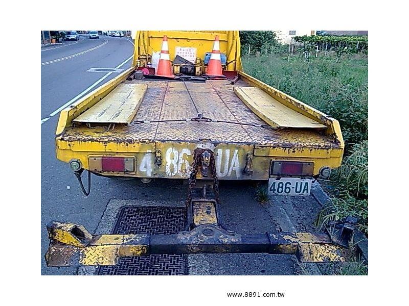 Toyota中古汽車/豐田中古汽車,Dyna中古汽車,豐田 黛娜 7.4頓全載式拖吊車割讓-圖片2