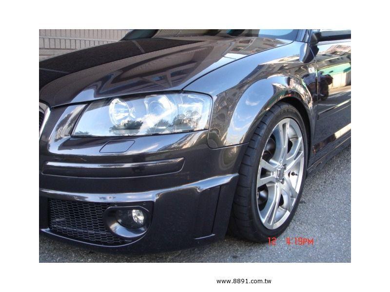 Audi中古車/奧迪中古車,A3中古車,【上穩汽車】2005年 AUDI A3 2.0T 全景天窗 S3大包 僅4.2K-圖片4