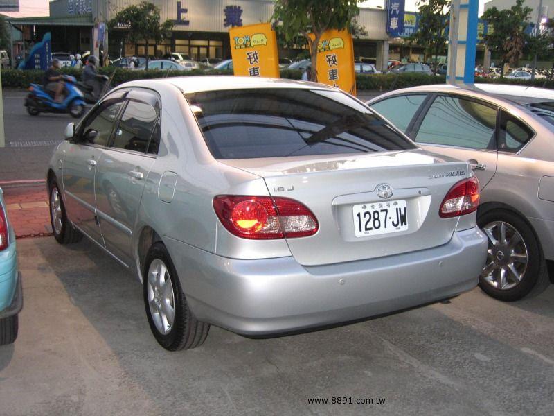 Toyota中古汽車/豐田中古汽車,Altis中古汽車/歐提司中古汽車,台中{揚立汽車} 2004年 TOYOTA豐田 ALTIS 1.8 銀色-圖片3