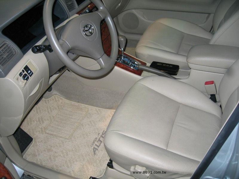 Toyota中古汽車/豐田中古汽車,Altis中古汽車/歐提司中古汽車,台中{揚立汽車} 2004年 TOYOTA豐田 ALTIS 1.8 銀色-圖片4