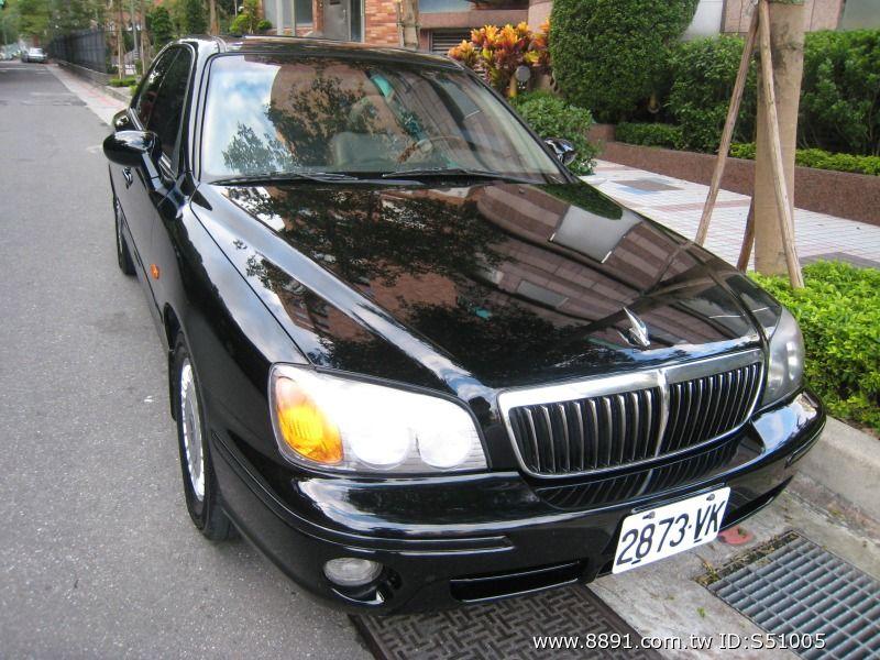 Hyundai中古車/現代中古車,XG中古車,~韓國頂級車種/Hyundai/現代(XG)2001年2.0cc皇家頂級板黑色~-圖片1