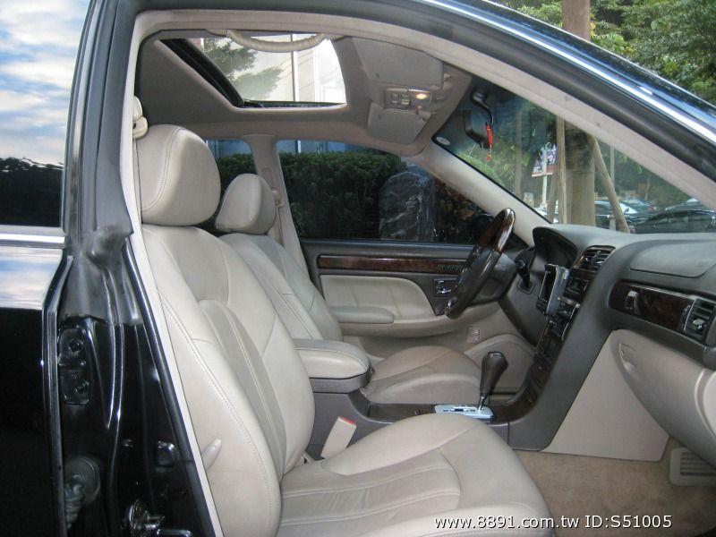 Hyundai中古車/現代中古車,XG中古車,~韓國頂級車種/Hyundai/現代(XG)2001年2.0cc皇家頂級板黑色~-圖片8
