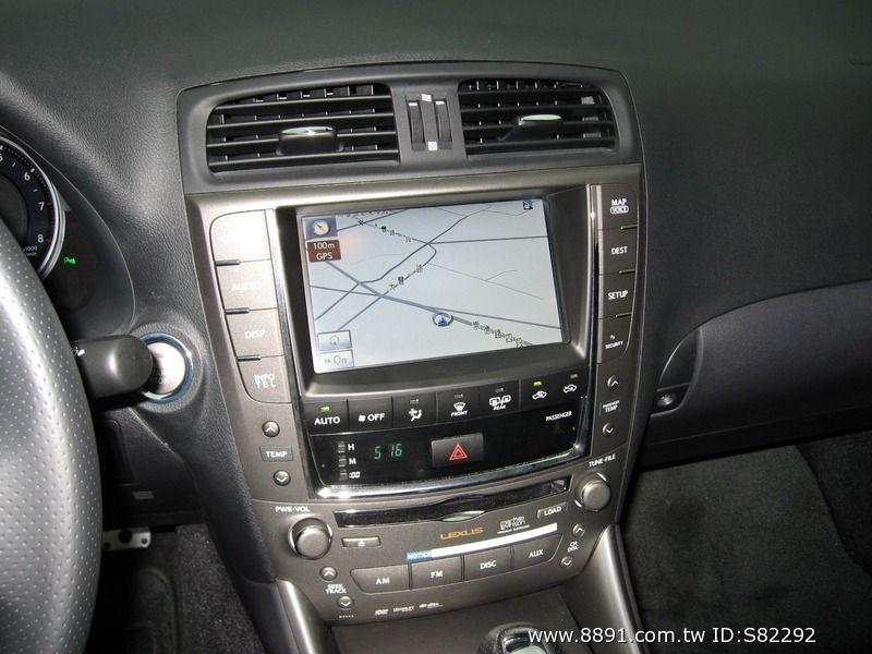 Lexus中古車/淩志中古車,IS中古車,LEXUS IS250 F-SPORT 運動懸吊 DVD 原廠NAVE-圖片10