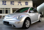 05年式 VW 福斯 BEETLE 金龜車 1.6  女用車 內裝美氣氛佳!