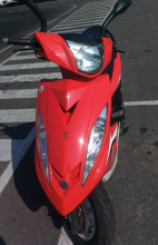 急賣自用~2013年 YAMAHA GTR AERO 紅色