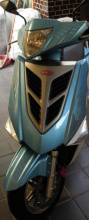 彪虎125 藍白色