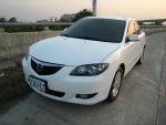 ★優質日系車Mazda/馬自達3白色2006年1.6cc一手車★
