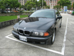 @財神精選優質好車1998年BMW520i E39黑色泛德總代理一手車@