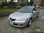 ★優質日系車Mazda/馬自達6銀色2003年2.0cc★