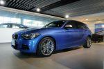 BMW總代理 BPS 台北汎德原廠認證中古車 掀背鋼砲 M135i 亮藍