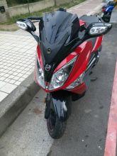 自售2015年SYM GTS300i ABS SPORT紅黑(原廠保固中)