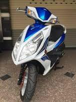 SYM 白藍 FIGHTER 6 無ABS板 150CC