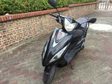 自售車~2012年光陽VJR110cc黑色碟煞實跑23000公里
