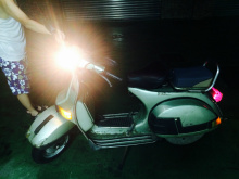 1985年古董速克達,放室內,少騎,原色原漆,皮椅、新輪胎,環保檢驗通過,好發動