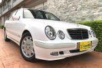 E200K小改款2.0 機械增壓 稀少漂亮白色~超省油性能馬力大第三方優質認證車