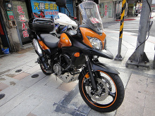 明松正2012年9月 DL 650 ABS台鈴代理原漆,車況超優,直購價22萬8