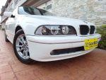 專售E39 520i紀念精裝版~稀少白色2.2原版件認證車汎德高CP值車款