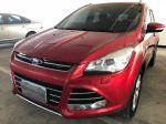 福特原廠認證中古車部-台南 2014年KUGA2.04X豪華旗艦版 紅色