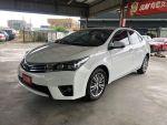 市場稀少白色 白色ALTIS 全車原版件 里程保證 公司記錄齊全!!