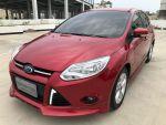 福特原廠認證中古車部-台南2014FOCUS1.6五門有影音空力套件