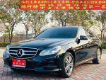 福利乾隆汽車烏日旗艦店2014年BENZ W212 E200 頂級小改款僅跑6萬