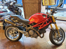 2009年 monster 1100cc 紅色
