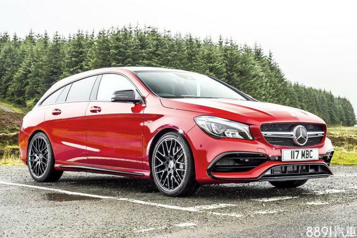 Mercedes-Benz CLA Shooting Brake 外觀圖片