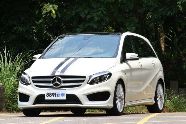 Mercedes-Benz B-Class 外觀圖片